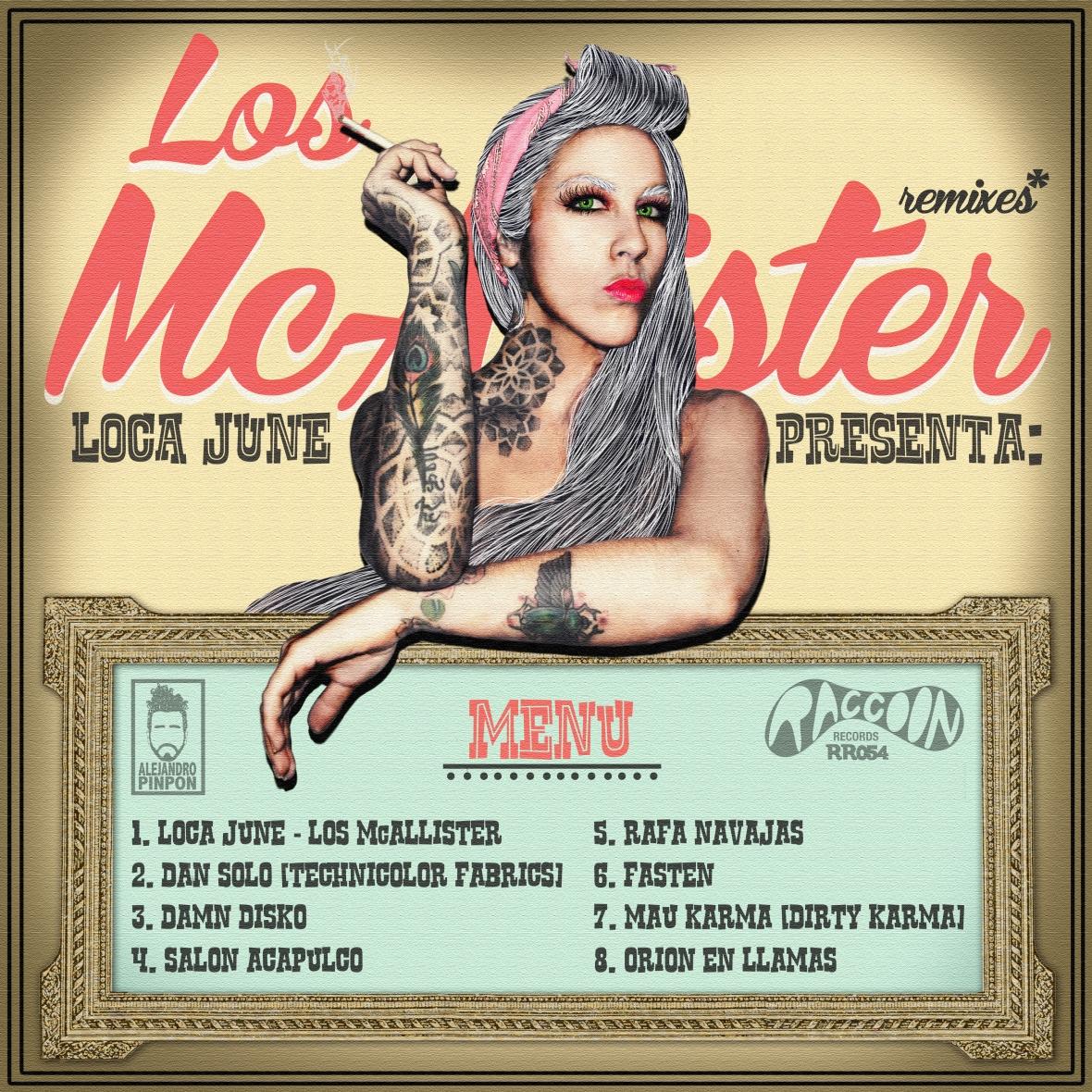 EP remixes - Los McAllister LOCA JUNE 6 oct 2012