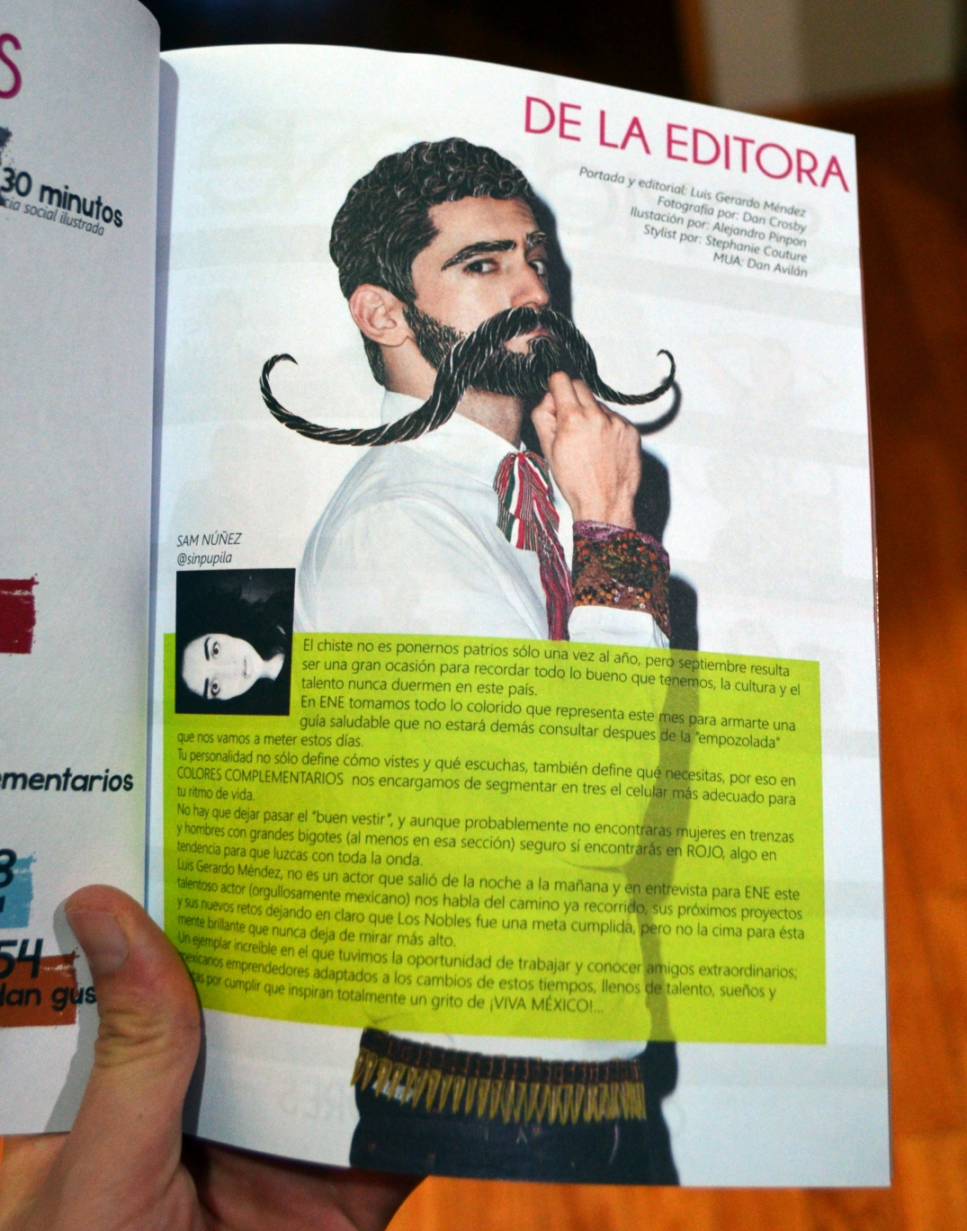 Editorial revista ene magazine luis gerardo