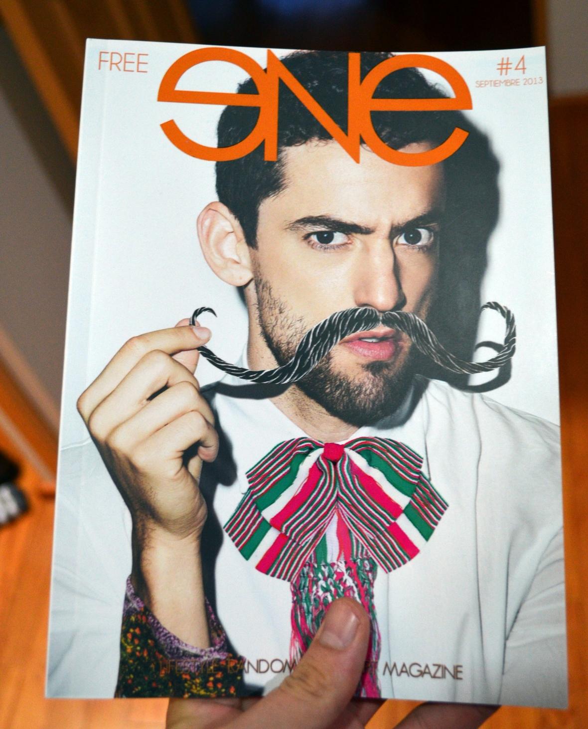 Ene magazine portada luis gerardo revsita