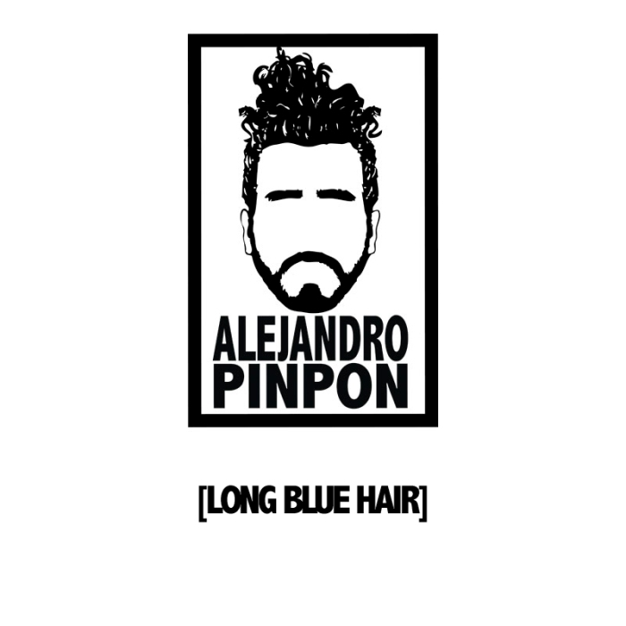 Alejandro Pinpon Ling blue hair portada