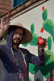 ALEJANDRO PINPON MURAL QUERETARO DE VENEZUELA Y MEXICO FOTO BY CREATIGRE