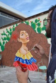 Alejandro Pinpon Mural Venezuela México en Querétaro fotos by Creatigre 6
