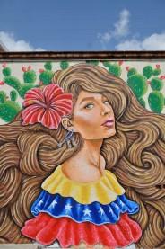 Alejandro Pinpon Mural Venezuela México en Querétaro fotos by Creatigre 7
