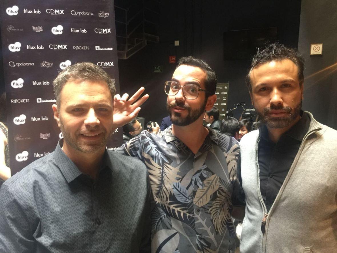 ALEJANDRO PINPON, MIGUEL BOLIVAR Y DAVID DI BONA