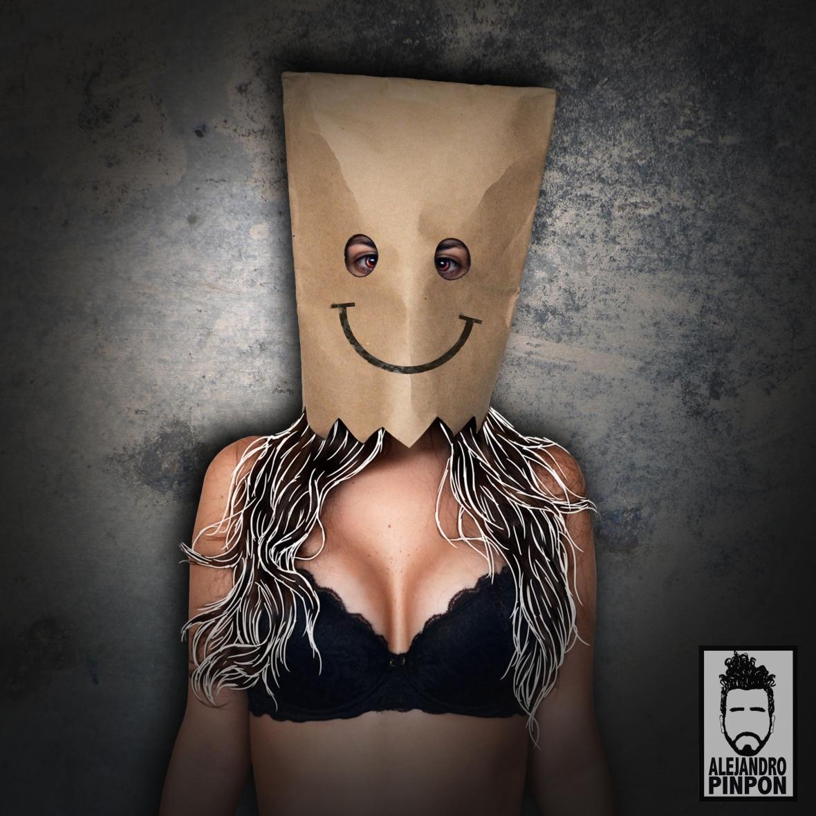 mascara de Papel 72