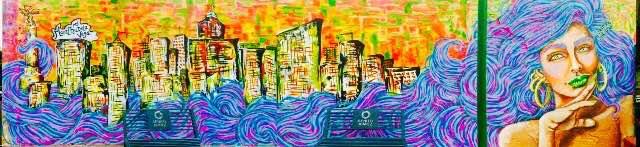 mural colorista completo