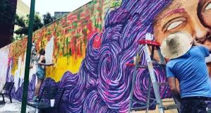 mural colorista detalle foto alejandro