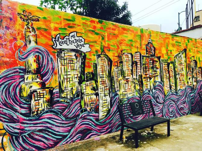 mural loreal colorista
